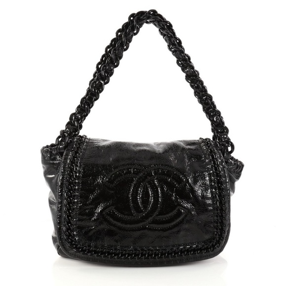 eceaeb3dd0e78f CHANEL Bags | Resin Modern Chain Flap Bag Quilted | Poshmark